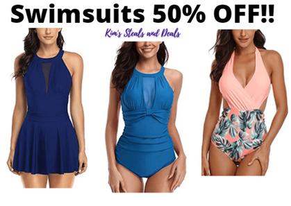 HALF OFF popular Women's Swimsuits here!!!