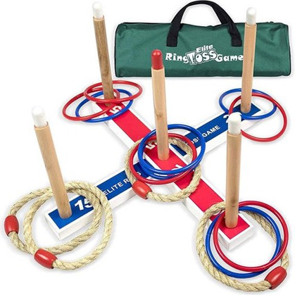 Fun! Elite Ring Toss Yard Game is marked down 56%