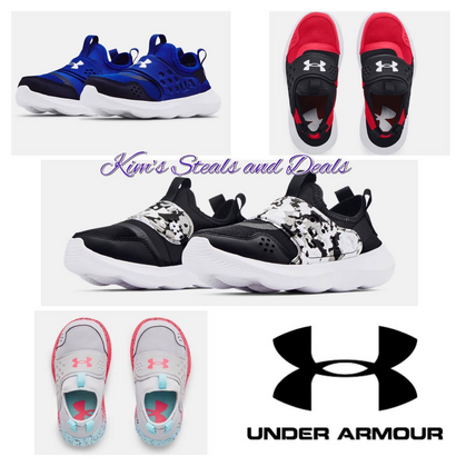 Kids UA Shoes $23.99