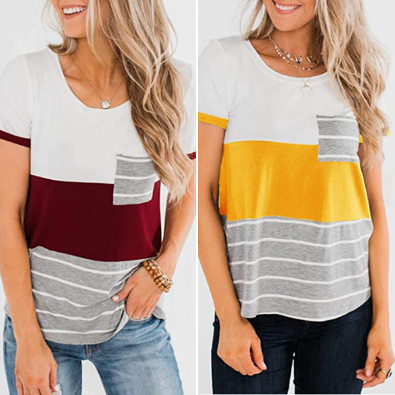 Get 40% OFF on Striped Tees!