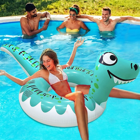 Fun Dinosaur Float for a STEAL!