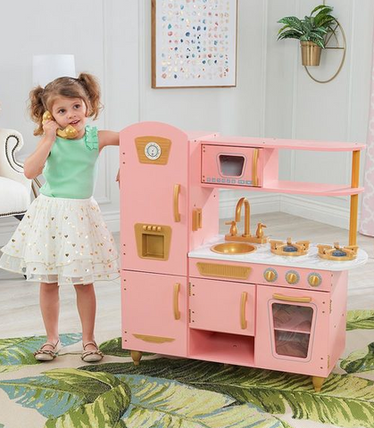 Vintage Play Kitchen drops to just $72 (Reg $150)