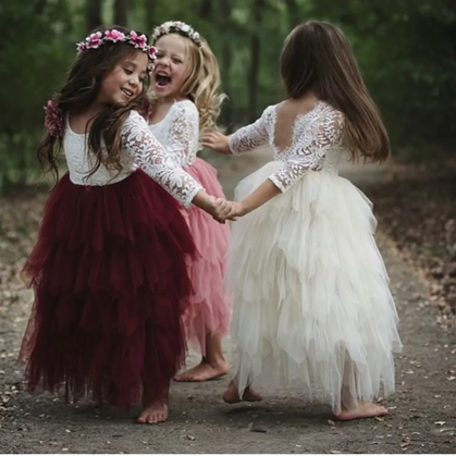 Flower Girl Dresses are BEAUTIFUL!!! 😍 marked down and ship free!