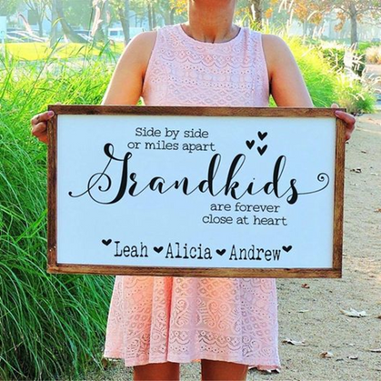 ADORABLE Custom Signs are just $35.99 + Free Shipping
