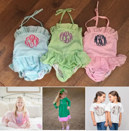 Check out these adorable Monogram finds over at Jane