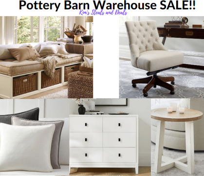 Pottery Barn WAREHOUSE Sale has officially begun - up to 50% OFF