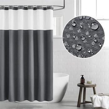 Waffle Weave Shower Curtain under $13 w/code