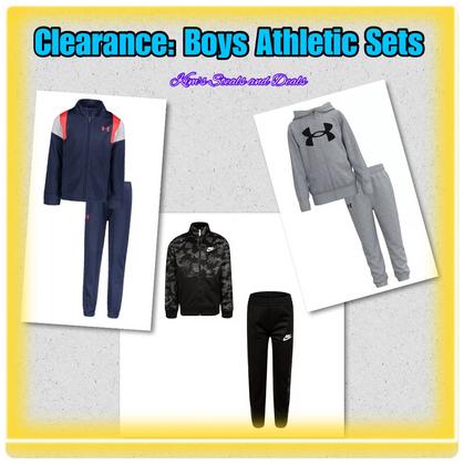 Boys Clearance Athletic Sets