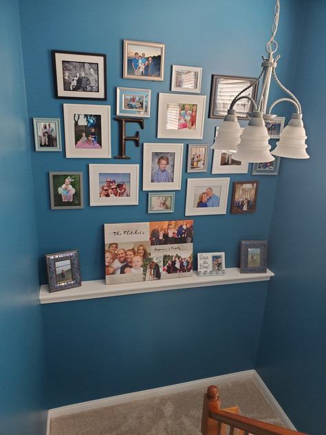 Exact placement with the Perfect Picture hanging kit!