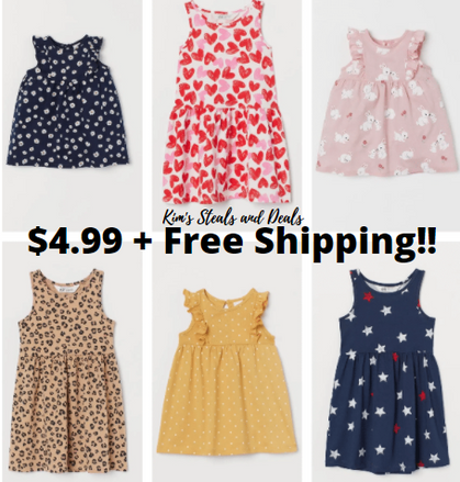 LAST DAY!!! Our favorite Girls Jersey Dresses