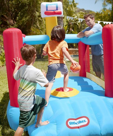 ONE DAY ONLY Little Tikes Super-Slam 'n Dunk $50 OFF!