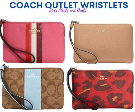 $27 Coach Outlet Wristlets