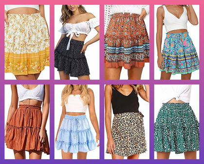 Ruffled Skirts for a STEAL!