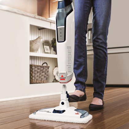 Bissell Steam Mop is as low as $59 today!