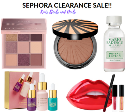 Sephora just dropped a ton of new inventory in their clearance section!!!