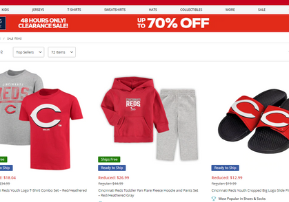 Need Gift Ideas?? Huge Clearance Markdowns on Sports Gear!