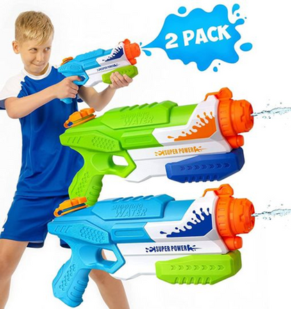 This 2-Pack of Water Guns drops under $8