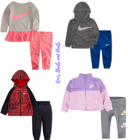 Possible G-L-I-T-C-H on Baby Nike sets
