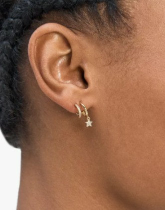 Get additional 50% off the Kate Spade Hoop Earrings and Necklace