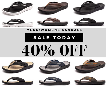 Durable, Comfortable Thong Sandals Around $15 w/ Promo!