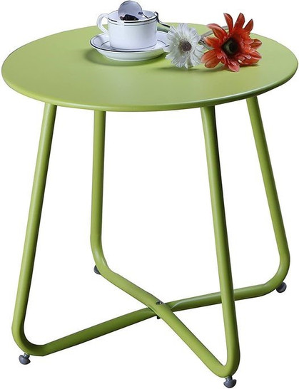 Oh, I love this one!! 40% off this Steel Patio Side Table