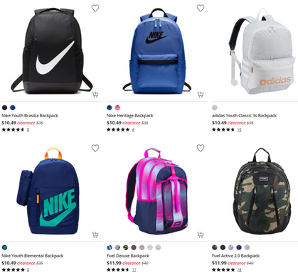 Say wha?! Check out these backpack deals!