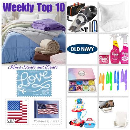 Weekly TOP 10 LIST!!