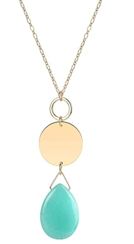 Long Teardrop Pendant Necklace for just $4 and change!!!