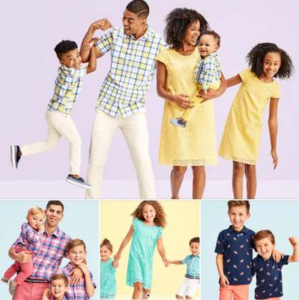 75% off Easter Outfits for the entire family!!