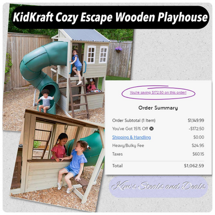 INSANE Deal on Kids Playhouse!!