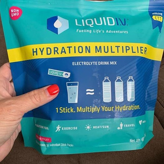 My Liquid IV is marked down today!!
