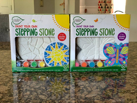Paint Your Own Stepping Stone $3.99