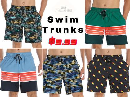 Excellent DEAL on Men's Swim Trunks!