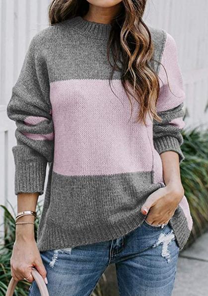 Color-Block Sweaters drop under $13