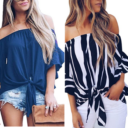 Tie Knot Top is a STEAL with group code