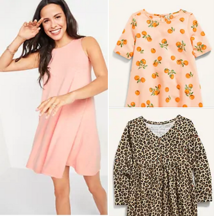 TODAY ONLY $12 Dresses for Women & $8 Dresses for Girls