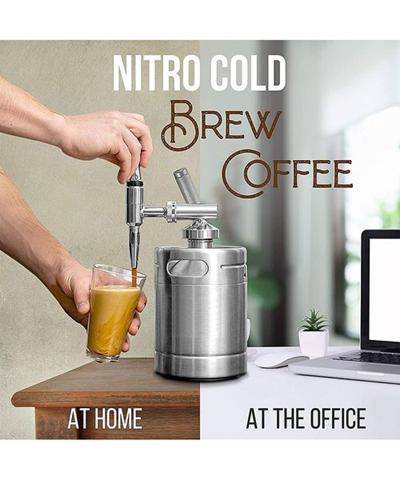 Coffee Lovers, meet the 64 Oz. Nitro Cold Brew Coffee Maker