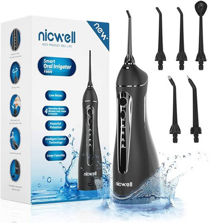 Waterproof Cordless Water Pick has a coupon and code!