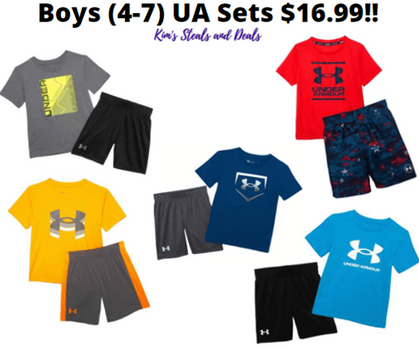 Under Armour Sets for Kids are a DEAL!