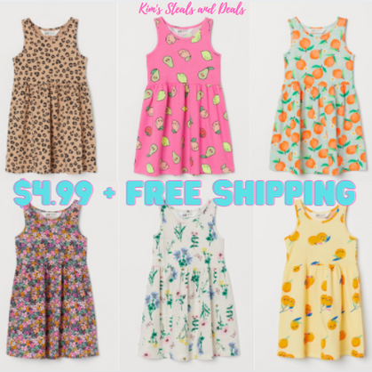 Adorable Jersey Dresses $4.99!!!