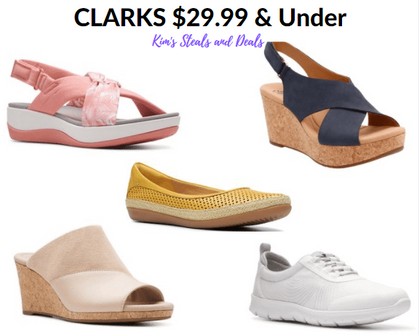 Today ONLY - Women's Clark Shoes are $29.99 & Under (Reg up to $85)