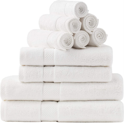 10-Pack of Bedsure Bath Towelsdrops 30% with group code!