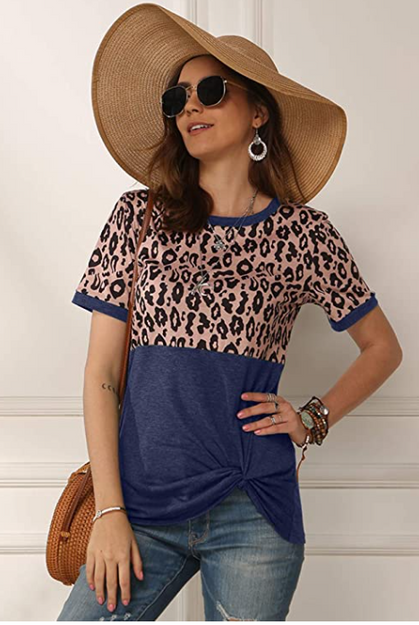 This adorable Leopard Top drops to just $8