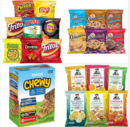 DEAL of the D-A-Y on snacks!
