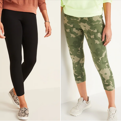 Today ONLY, snag Women's & Girl's Leggings for just $7!