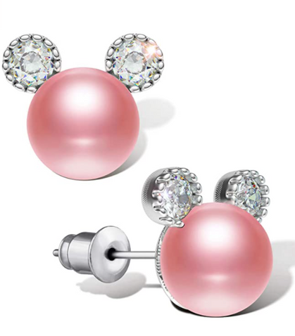 Adorable Mouse Earrings (in pink and red) drop half off!