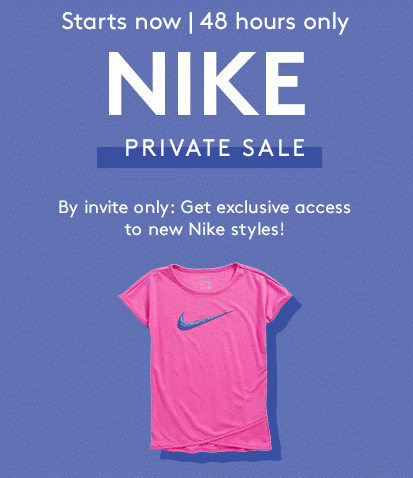 Nike Event Just Started ~ Save up to 40%