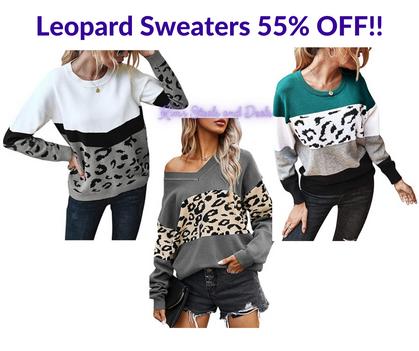 Leopard Sweaters!!!
