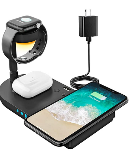 HOT Double deal on this 4 in 1 wireless charging station!!
