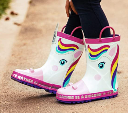 Just in time for Spring....Kids Rainboots drop 40% with our group code